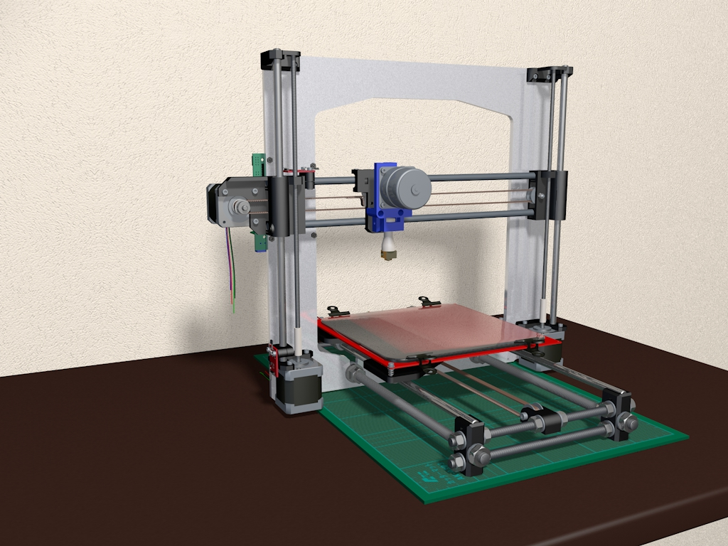 May in 3D RepRap Prusa i3 gia re tai Viet Nam (3)
